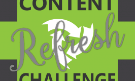 Join In: September Content Refresh Challenge