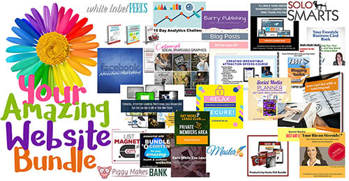 website deal - amazing website bundle image